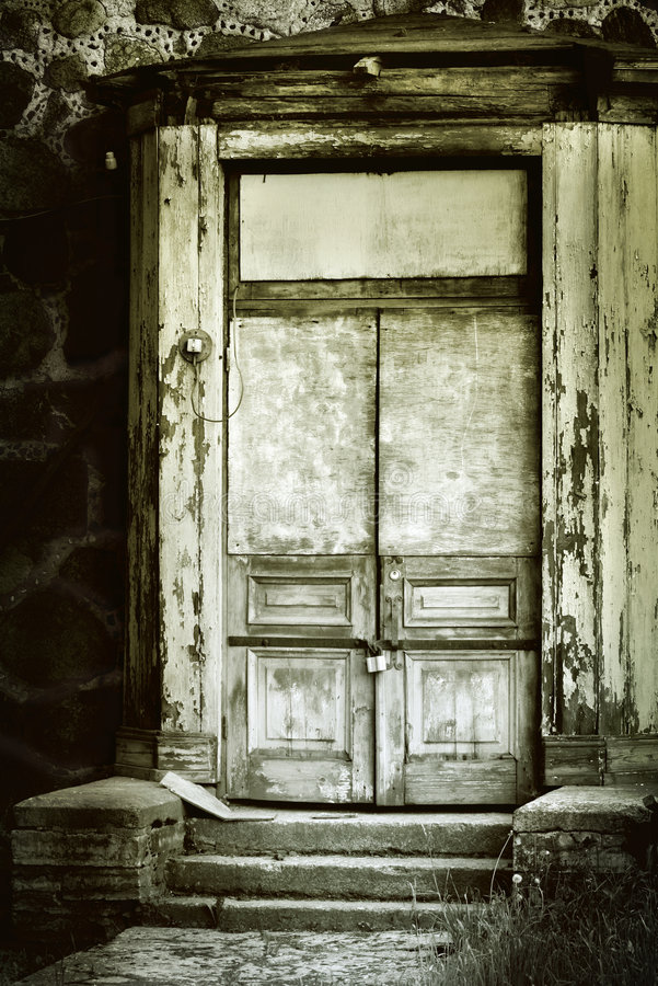 Download Old door stock photo. Image of rusty, destruction, depression - 3218872