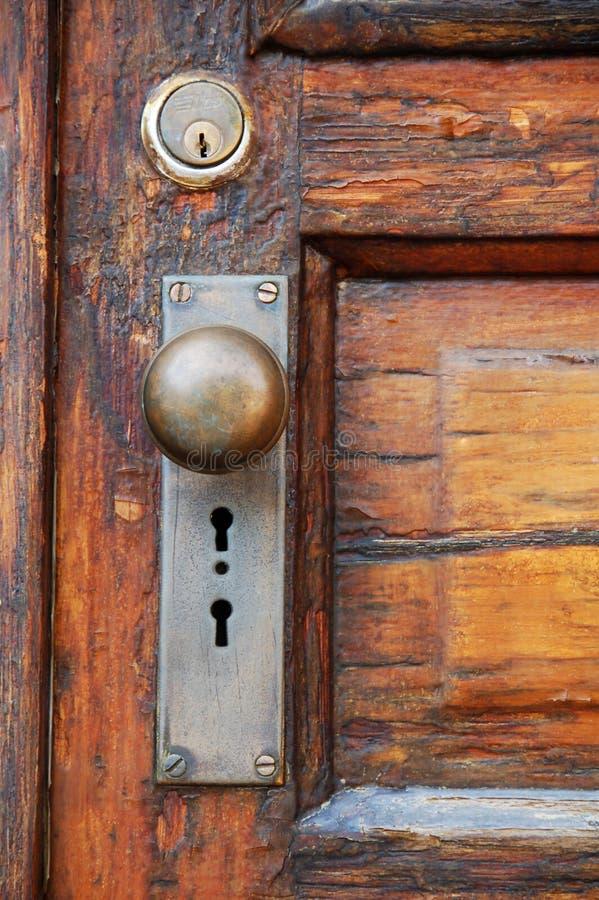 Download Old door stock photo. Image of brass, doorknob, lock, handle - 6940586