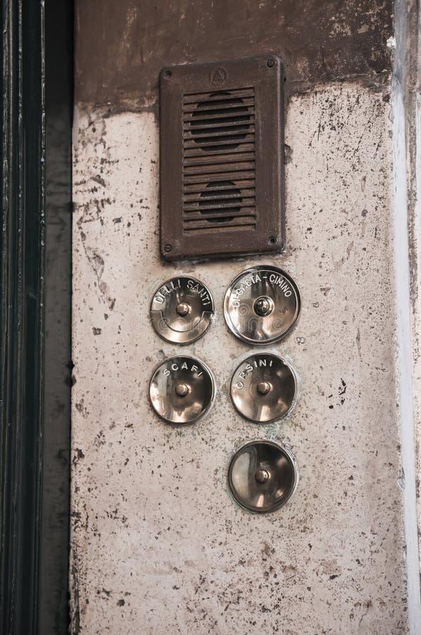 Download Old door bell stock illustration. Illustration of column - 62051672