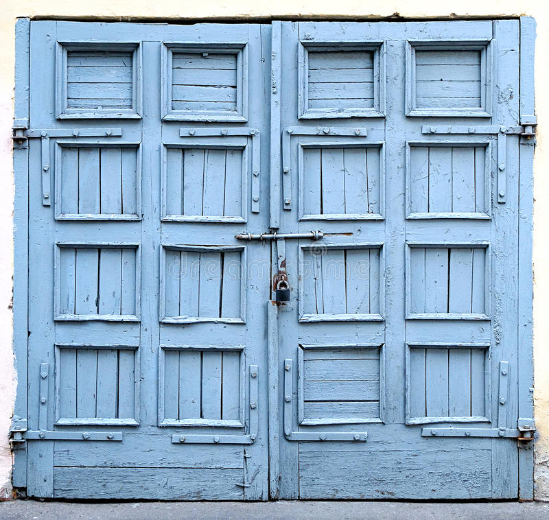 An old door stock photos
