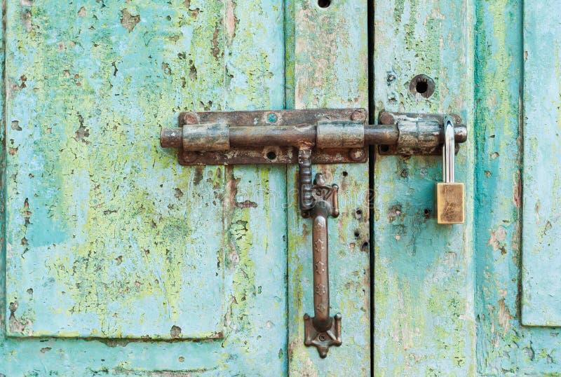 Old Door Handle Royalty Free Stock Photos