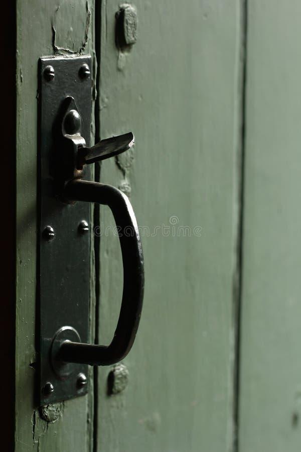 Download Old door handle stock photo. Image of beater, metal, nostalgic - 30472938
