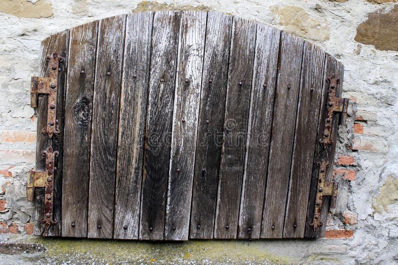 Old door. Of an old house royalty free stock images