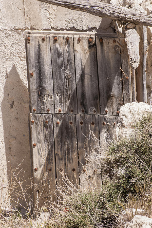 Download Old Door House Cave Stock Image. Image Of Fence, Rock   53447081