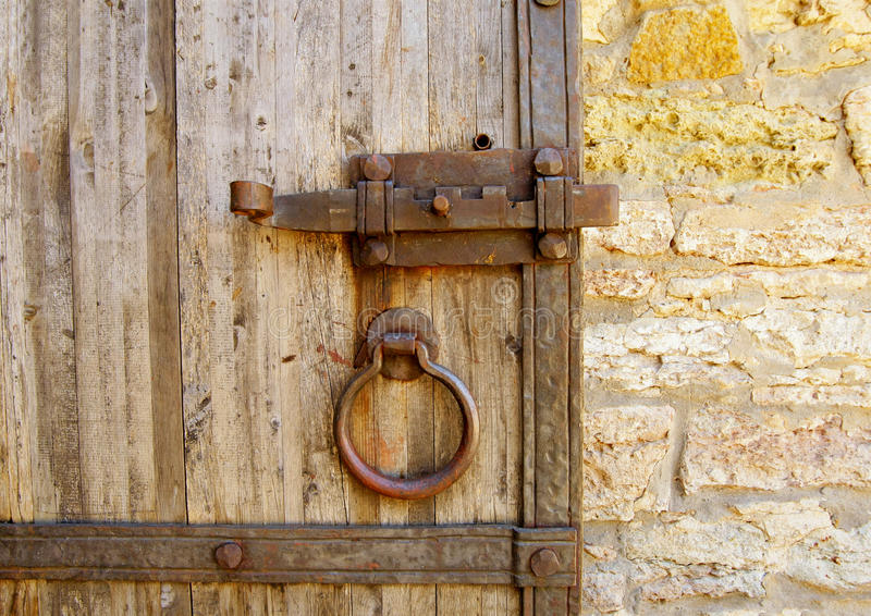 Download Old door stock photo. Image of brown, entrance, gate - 56790510