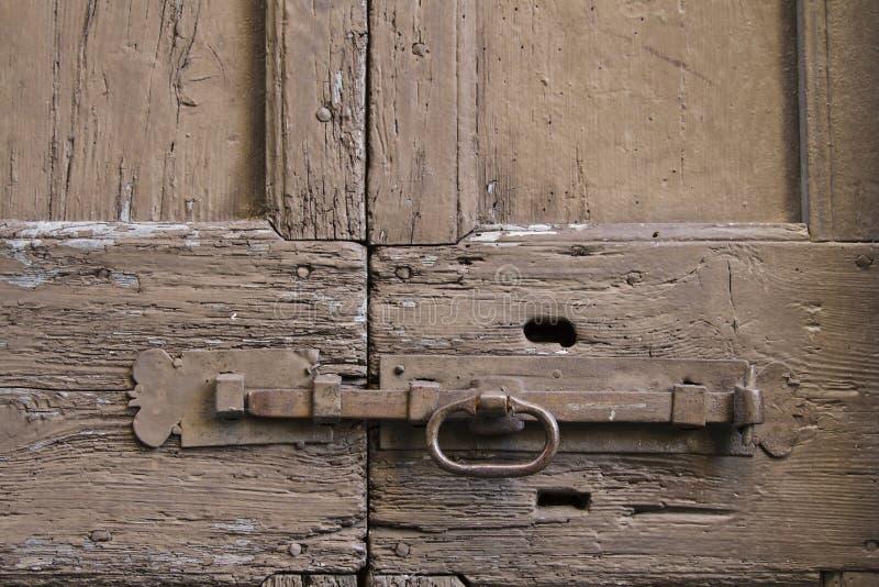 Old door latch stock photos