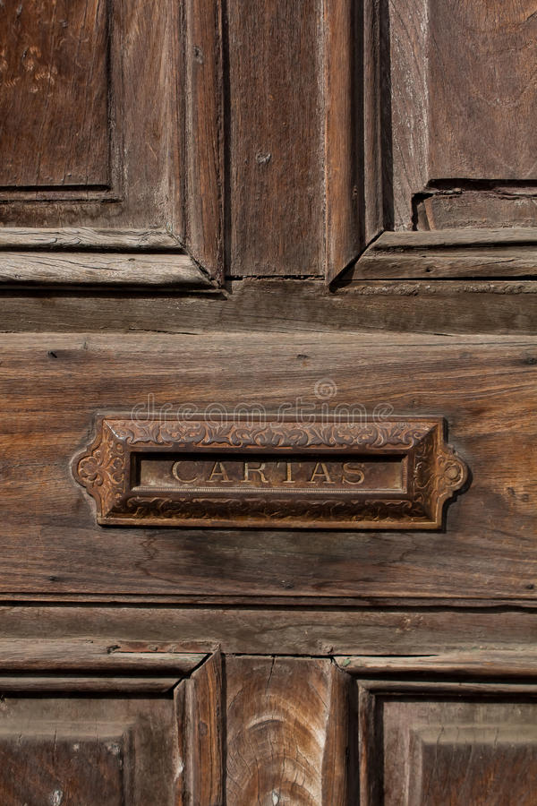Download Old Door And Letterbox Slot Antigua Guatemala Stock Photo - Image 38946396 & Old Door And Letterbox Slot Antigua Guatemala Stock Photo - Image ... pezcame.com