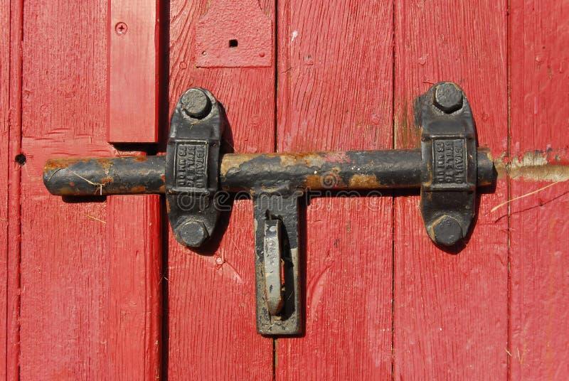 Old door lock royalty free stock image
