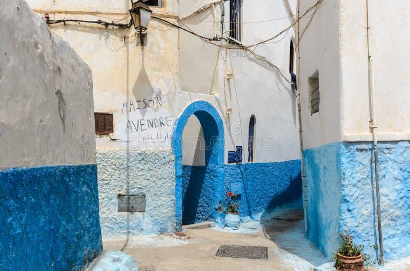 Old door in rabat; morocco royalty free stock photos