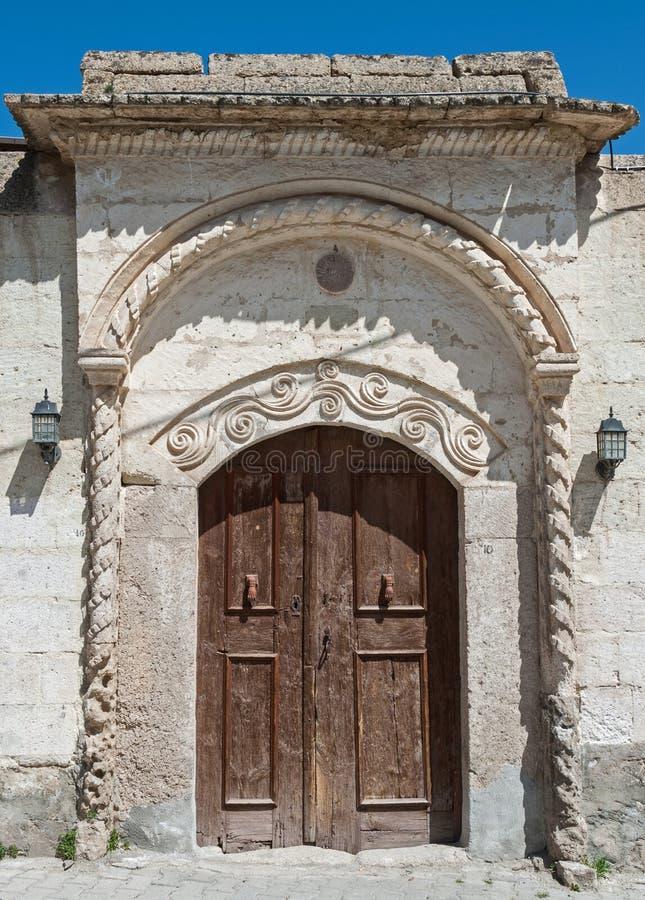 Old door in Turkey royalty free stock image