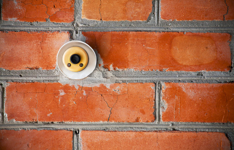 Download Old doorbell stock image. Image of close, cement, spooky - 26608123
