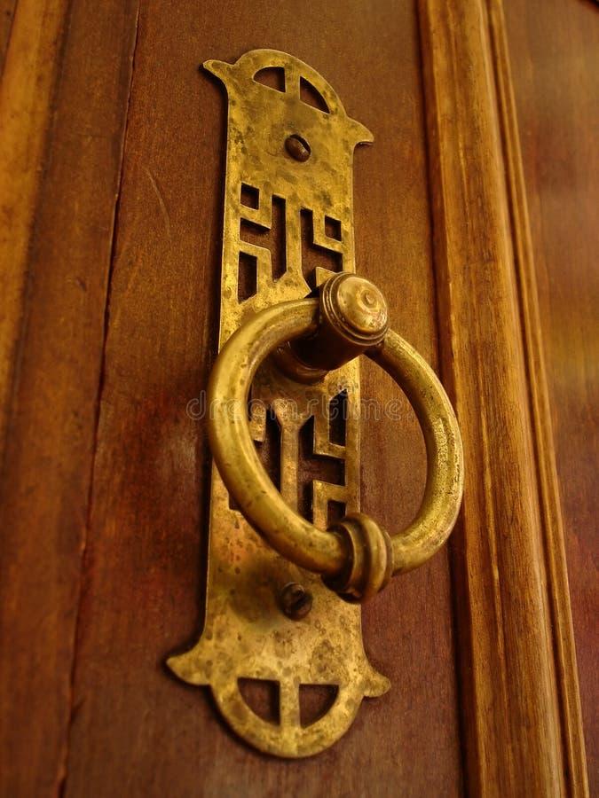 Download Old doorhandle stock image. Image of furniture, hardwood - 101301