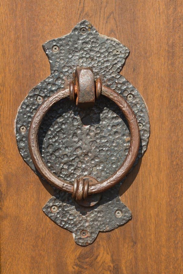 Old Doorknocker Stock Photo