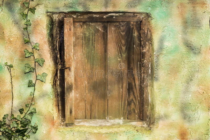 Old doors on smokehouse royalty free stock images