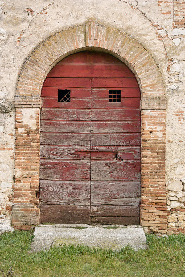 Download Old doorway stock photo. Image of barn, rieti, building - 28962174