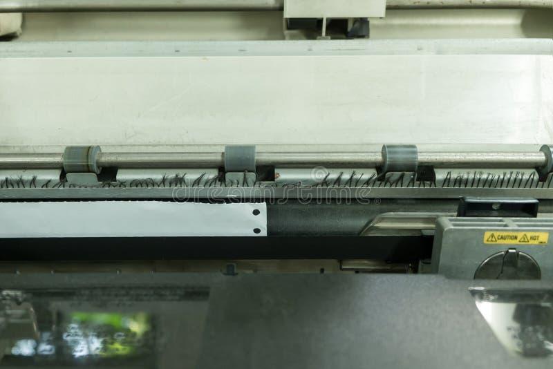 Old dot matrix printer, close up. Old dirty dot matrix printer, close up stock images