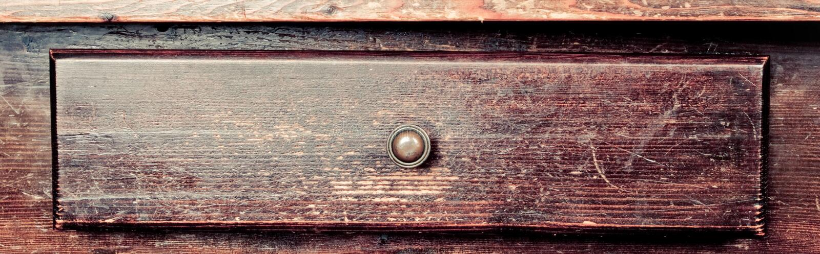 Old drawer royalty free stock photography