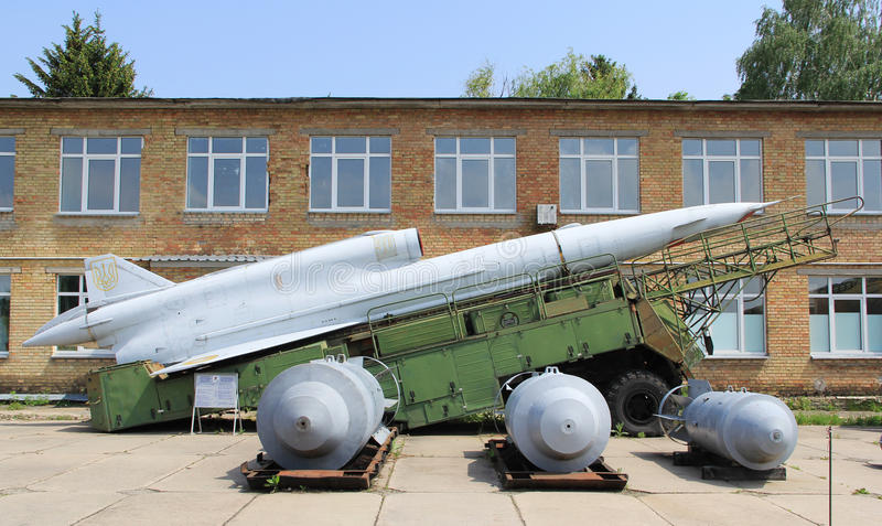 Download Old drone on launcher editorial image. Image of soviet - 24938300