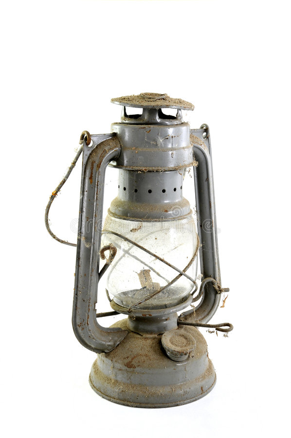 Download Old dusty petroleum lamp stock image. Image of gasoline - 9319155