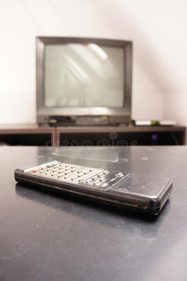 Download Old dusty remote stock photo. Image of shiny, dusty, table - 27812210