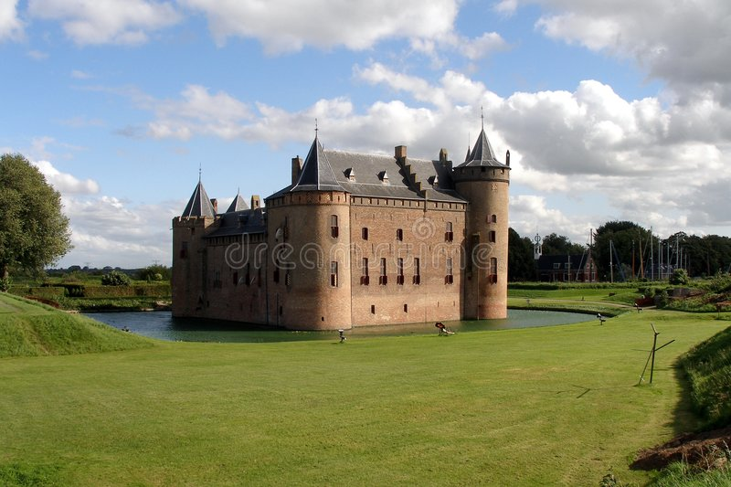 Old Dutch Castle royalty free stock photography