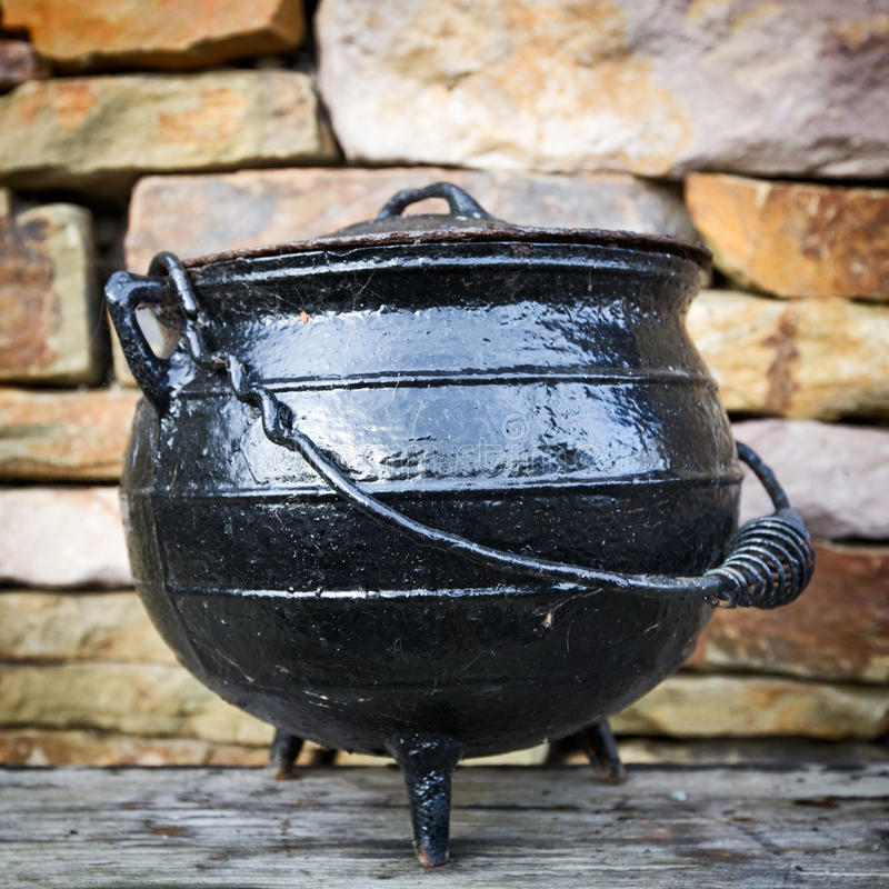 Old Dutch Oven Stock Photo Image Of Ancient Container