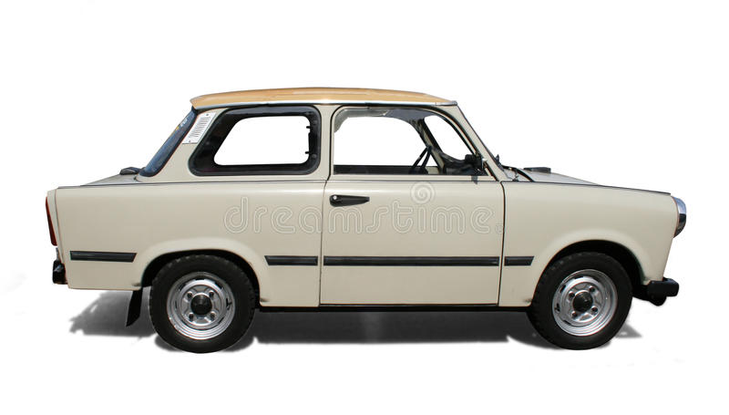 Download Old Eastern Europe car. stock image. Image of small, sixties - 10864195