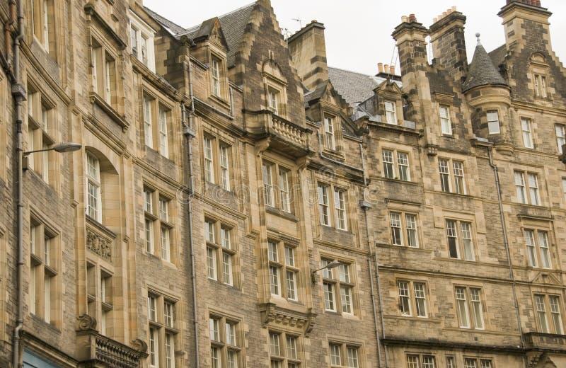 Old Edinburgh, Scotland royalty free stock photography