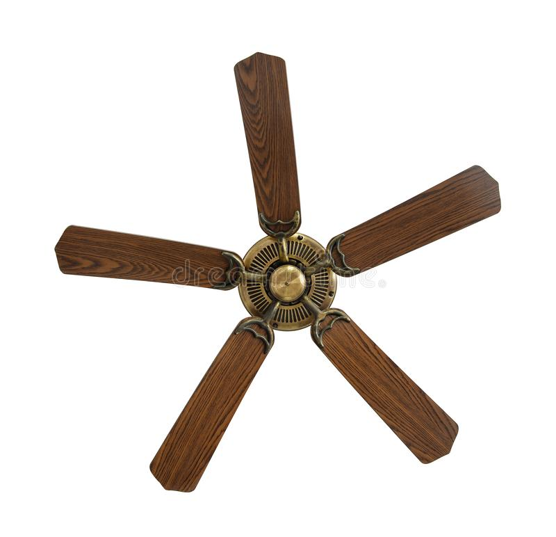 Free Old Electric Ceiling Fan Stock Photo - 141679920