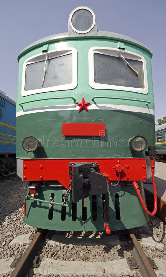 Download Old electric locomotive 1 stock photo. Image of wheel - 15094702