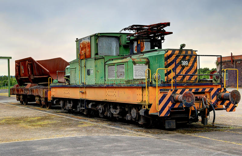Download Old Electric Locomotive Royalty Free Stock Photos - Image: 32187398