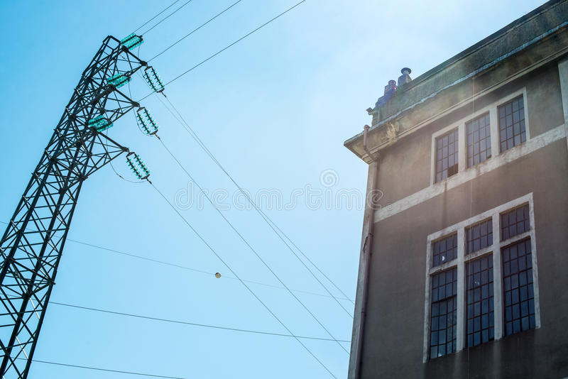 Download Old Electric Power Substation Stock Photo - Image: 31956436