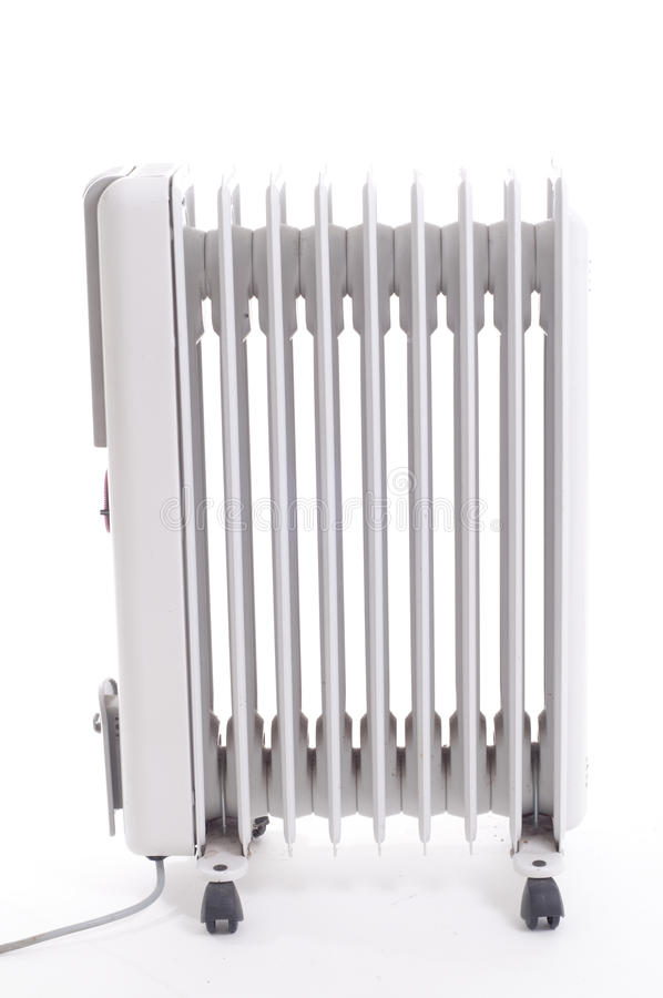 Old Electrical Oil heater royalty free stock photos