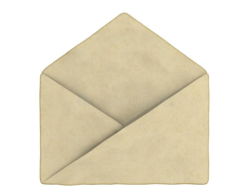 Download Old empty enveloped stock illustration. Image of antique - 21428459