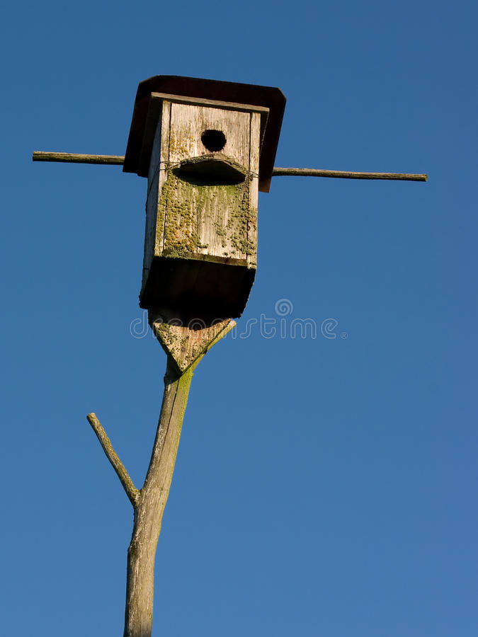 Old And Empty Nestling-house Stock Photos