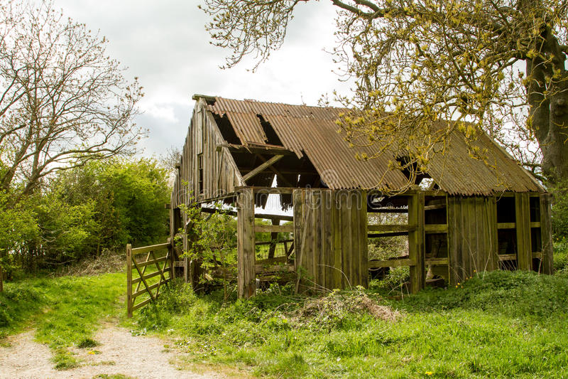 Old English Barn stock images