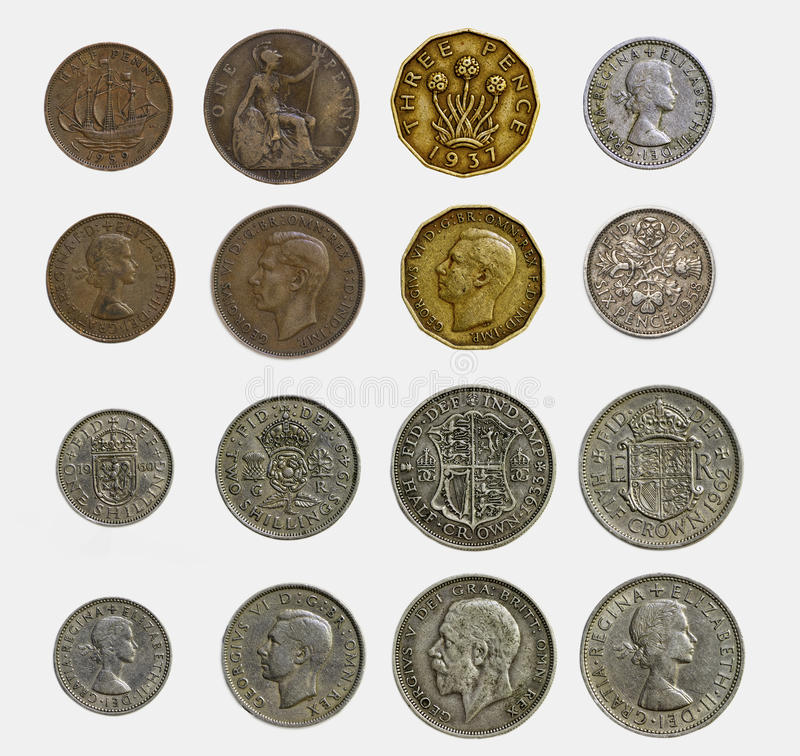 Free Old English Currency Stock Photos - 47148443