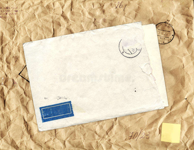 Old Envelope Royalty Free Stock Images