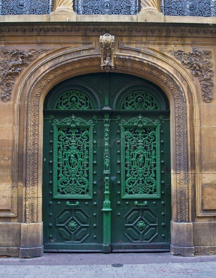 Old European Doors royalty free stock photos