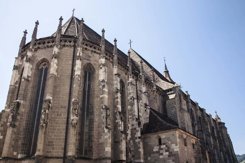 Old European gothic church. royalty free stock photography