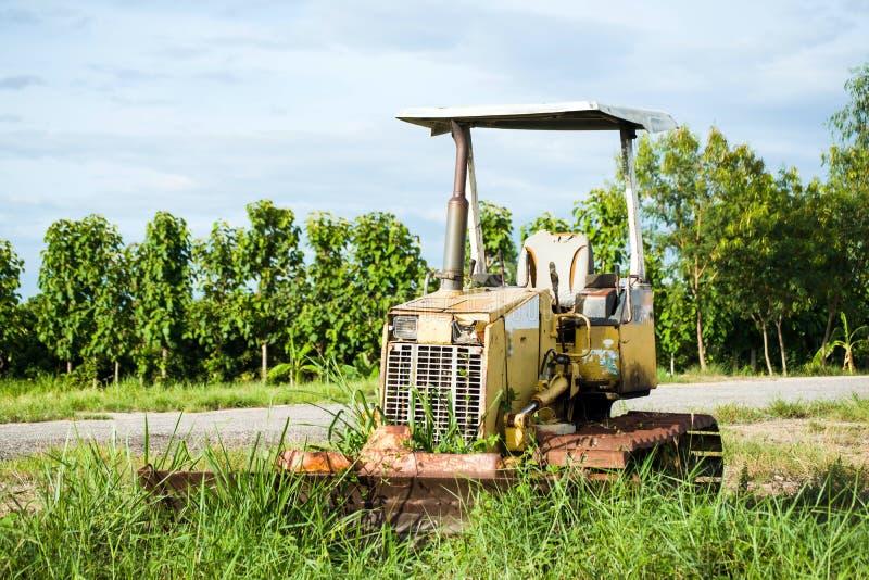 Old excavator royalty free stock photos