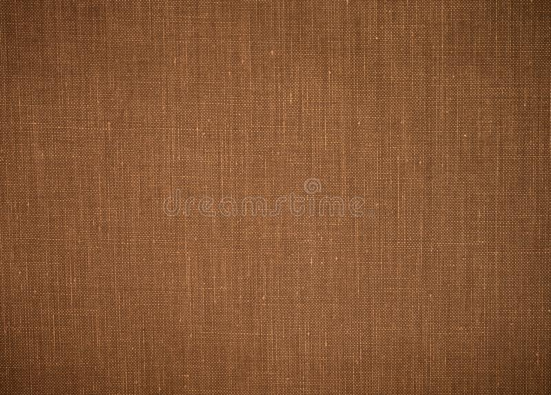 Old fabric texture background. Grunge burlap textile. Sack cloth material stock photo