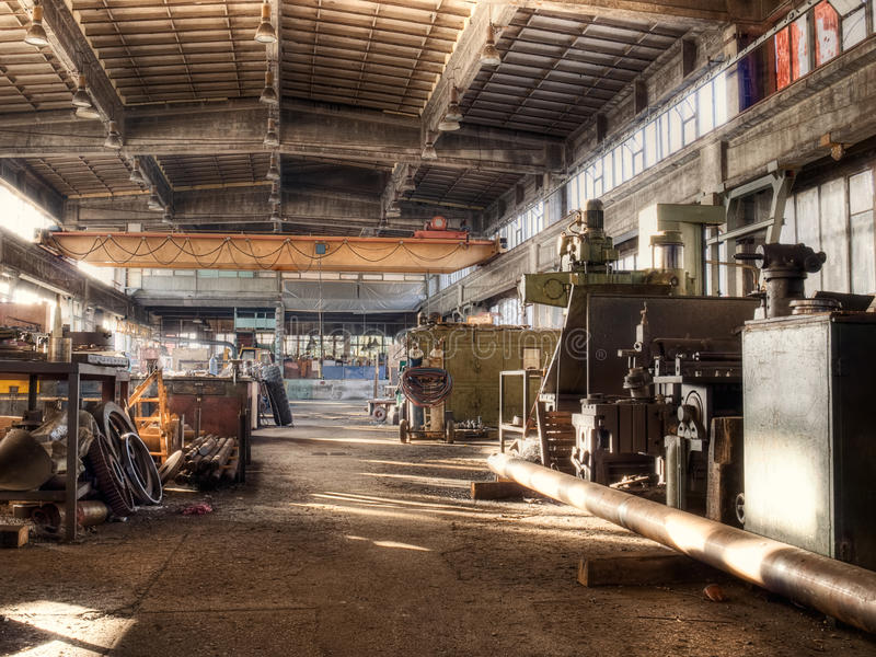 Download Old factory stock image. Image of iron, ironware, industry - 14993087