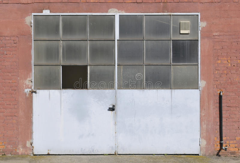 Download Old Factory Door Royalty Free Stock Photos   Image: 28090718