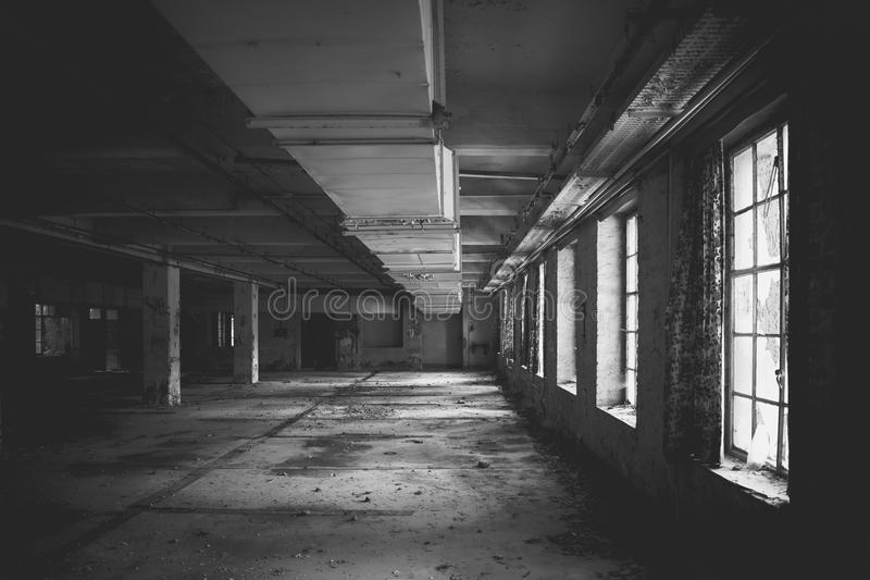 Download Old Factory Floor Stock Photo Image Of Vintage Interior