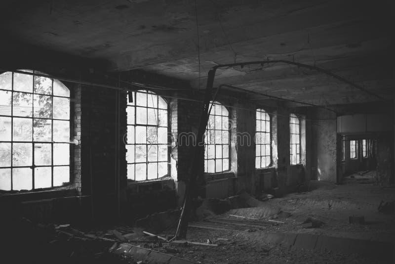 Old factory floor III royalty free stock photography