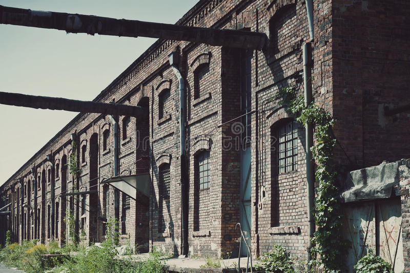 Old Factory Ironworks stock images