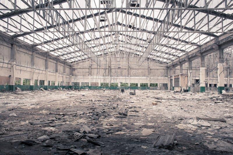 Old factory under demolition