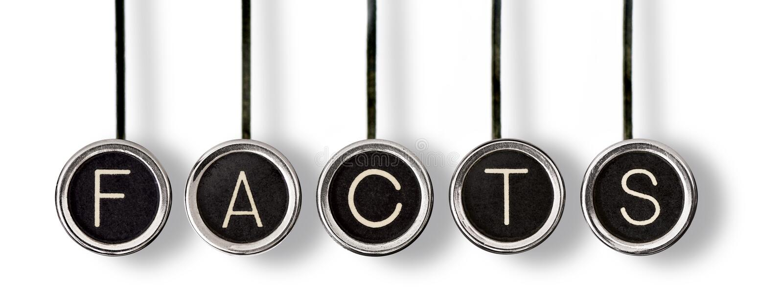 Old Facts royalty free stock image