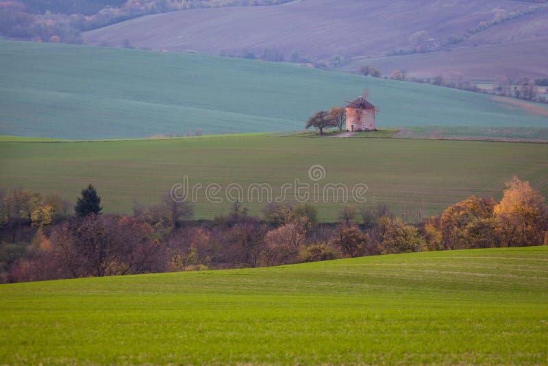 Old faery mill. Moravia, Czech Republic stock photography